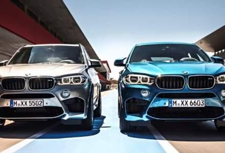 Noile BMW X5 M si BMW X6 M ajung in Romania in aprilie