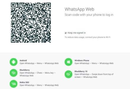 WhatsApp lanseaza si versiunea de desktop. Oarecum. Ce limitari are?