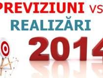 ANALIZA 2014: Previziuni vs...