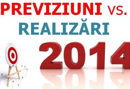ANALIZA: Previziuni vs realizari in piata de asigurari pe 2014