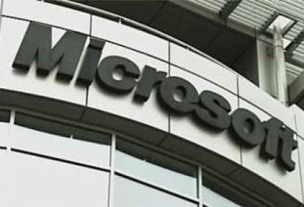 Microsoft, venituri cu 15,4% mai mari in primul semestru fiscal; profitul a scazut insa cu 11,8%