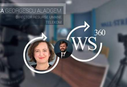 Anca Georgescu-Aladgem, director de HR la Telekom, invitata emisiunii WALL-STREET 360