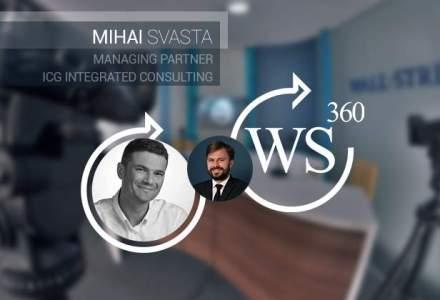Cum inoveaza companiile din Romania: raspunde Mihai Svasta (ICG) in emisiunea WALL-STREET 360