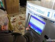 Automatul pentru bilete CFR -...