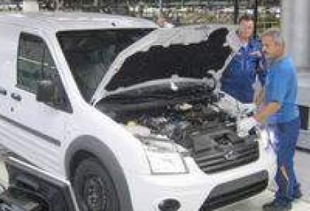 Ford a produs la Craiova de 3 ori mai putin decat si-a propus