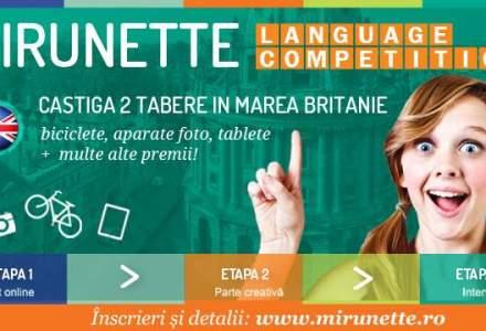 (P) Copilul tau poate castiga o tabara de 2 saptamani in Anglia, oferita de Mirunette International Education!