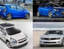 Chevrolet lanseaza 5 modele...