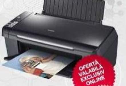 Imprimante cadou pentru clientii care se aboneaza online la Romtelecom Dolce