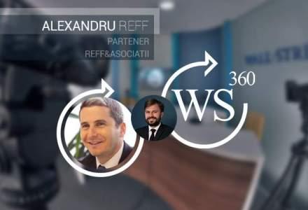 Alexandru Reff, unul dintre cei mai cunoscuti avocati de M&A in imobiliare, invitatul WALL-STREET 360 de astazi [VIDEO]