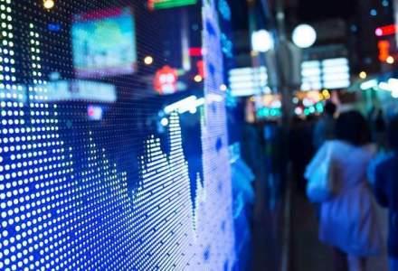 Bursa, in scadere. Titlurile vedeta sunt in declin