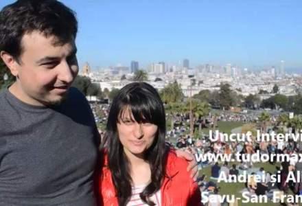 Cu un trecut antreprenorial, doi tineri romani s-au mutat in San Francisco: cum este viata lor in California