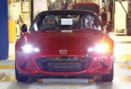 Mazda incepe productia noului MX-5, primele unitati ajung in showroom in toamna