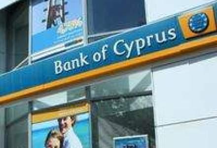 Bank of Cyprus: Profit net de 2,6 ori mai mare in 2009