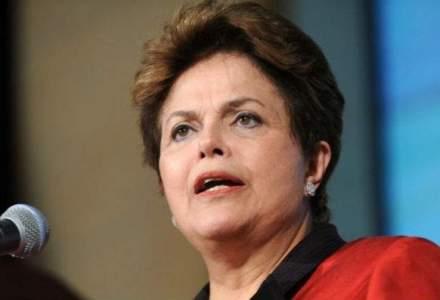Peste un milion de brazilieni au demonstrat impotriva presedintei Dilma Rousseff