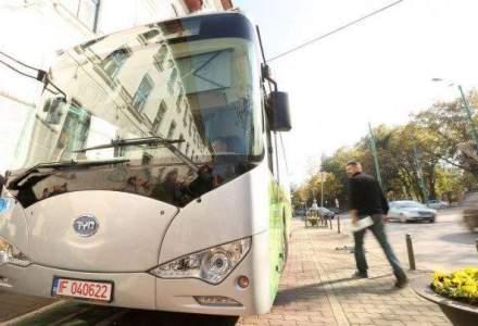Primul autobuz electric, astazi pe strazile din Bucuresti