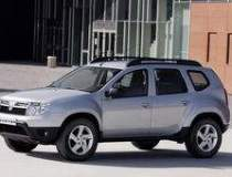 Dacia Duster in right-hand...