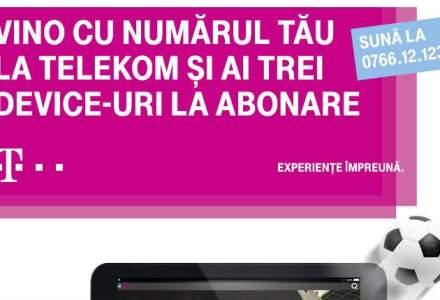 Telekom Romania lanseaza o oferta speciala pentru clientii care isi porteaza numarul in reteaua T