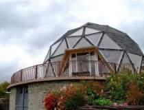 Casa-rotunda, proiectul unic...