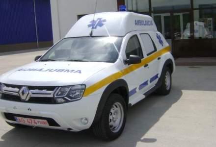 Dacia a livrat in Angola primele ambulante Dacia Duster