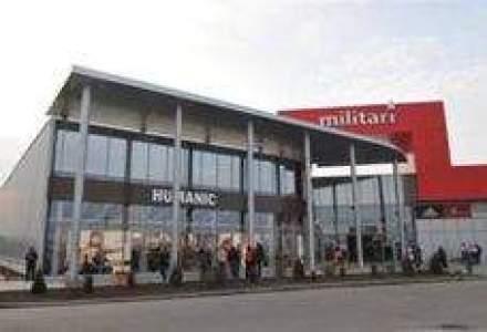 Militari Shopping: Venituri din chirii de 5,7 mil. euro, sub asteptari