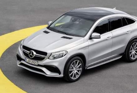 Mercedes-Benz aduce in Romania SUV-ul GLE Coupe. Pretul de pornire este 70.000 euro