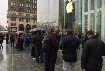 Apple Watch s-a lansat cu ceva cozi, dar in niciun caz randurile interminabile ale clasicelor lansari