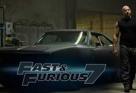 Fast and Furious 7, lider in box office cu incasari de peste 60 mil. dolari
