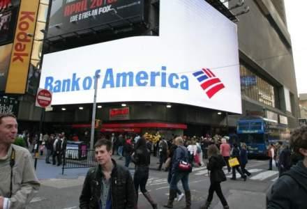 Bank of America a trecut pe profit, dupa ce si-a redus cu o treime costurile