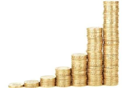 Cursul pentru euro a scazut cu un ban