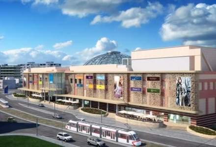 Fatada Bucuresti Mall a intrat in renovare: terase si spatii verzi la intrare din toamna
