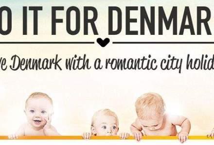 """VIDEO. Campanie de stimulare a natalitatii: """"Faceti sex pentru Danemarca"""""""