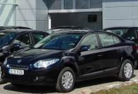 Renault a livrat prima flota de autoturisme Fluence