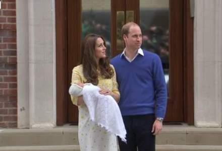 Fetita ducesei Catherine, foarte populara pe Twitter: Nasterea sa a atras peste 1,1 milioane mesaje