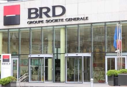 Profitul grupului BRD a crescut de trei ori in T1, la 140 milioane lei; costul riscului s-a redus