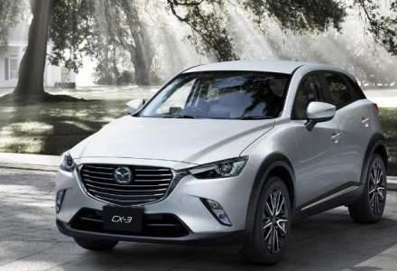 Mazda aduce in iunie in Romania noul SUV compact CX-3. Pretul porneste de la 15.000 euro