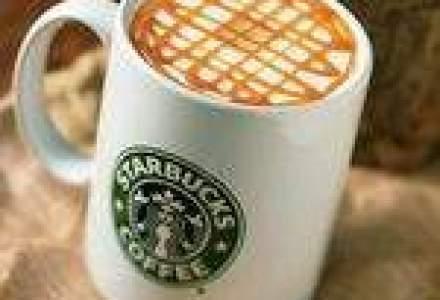 O noua cafenea Starbucks, in Sun Plaza