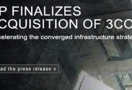 HP a finalizat achizitia furnizorului de switch-uri 3Com