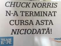 Chuck Norris nu a terminat...