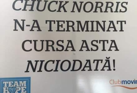 Chuck Norris nu a terminat cursa asta: 10.000 de participanti la semimaratonul de la Bucuresti