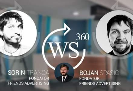 Sorin Tranca si Bojan Spasic (Friends TBWA), la WALL-STREET 360. Care sunt tendintele momentului in publicitate