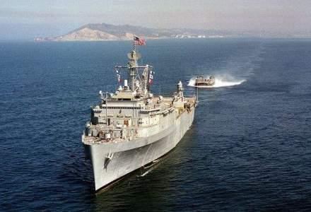 Exercitii militare in Marea Neagra: Vor participa nave romanesti, un distrugator american si 1.500 de militari