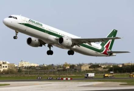 Greva la Alitalia: pilotii protesteaza fata de inchirierea serviciilor Blue Air