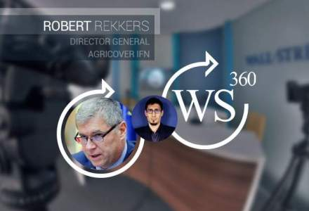 Robert Rekkers, CEO al Agricover Credit IFN, vine la WALL-STREET 360. Unde se rupe de obicei relatia fermier-bancher