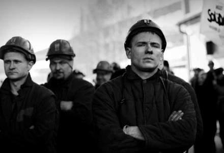 Ministrul Economiei, Andrei Gerea, a ajuns la Petrosani; protestul minerilor continua