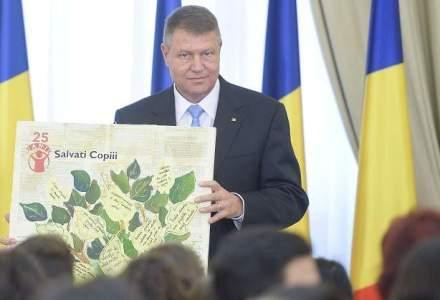 Cum au sarbatorit copiii, Klaus Iohannis si politicienii ziua de 1 iunie