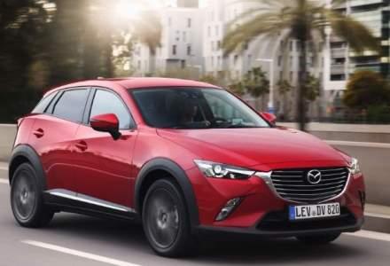 Test la Mediterana cu un nou crossover chic, Mazda CX-3