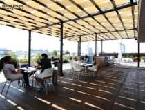 Biroul in aer liber: terasele...