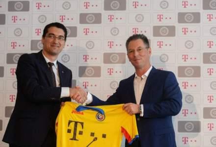 Telekom, sponsor principal al Echipei Nationale de Fotbal a Romaniei pana in 2016