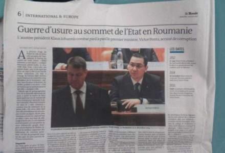 """Politica nervilor in """"Le Monde"""": """"Nu au inteles romanii tactica lui Iohannis?"""""""