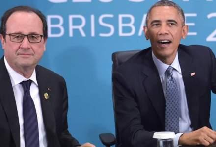Barack Obama i-a dat asigurari lui Francois Hollande ca NSA a incetat practicile de interceptare